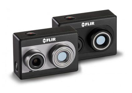 FLIR анонсировала первую в мире экшен-камеру с тепловизором