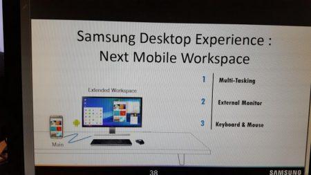 Смартфон Samsung Galaxy S8 может получить аналог функции Microsoft Continuum