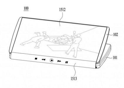 LG тоже запатентовала гибридное устройство с гибким экраном, способное принимать форму смартфона и планшета