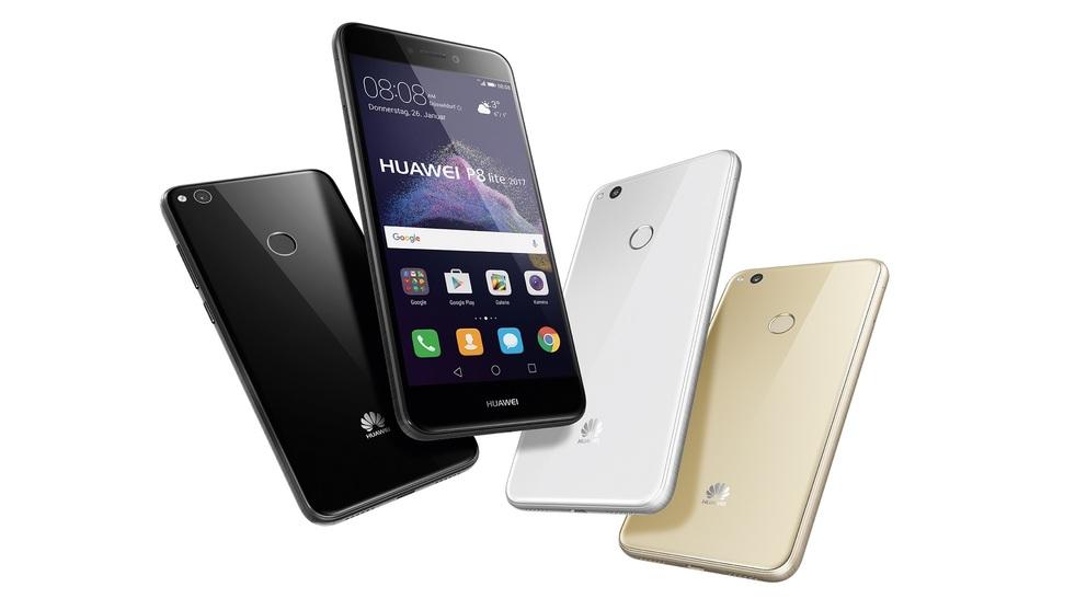 Анонсирован смартфон Huawei P8 lite (2017)
