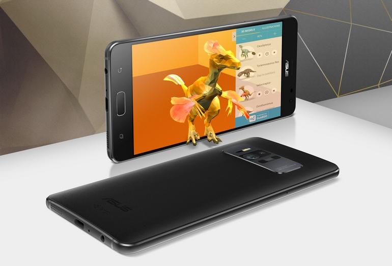 ASUS Zen Fone AR с поддержкой технологий Google Tango и Daydream стал первым смартфоном на рынке с 8 ГБ ОЗУ