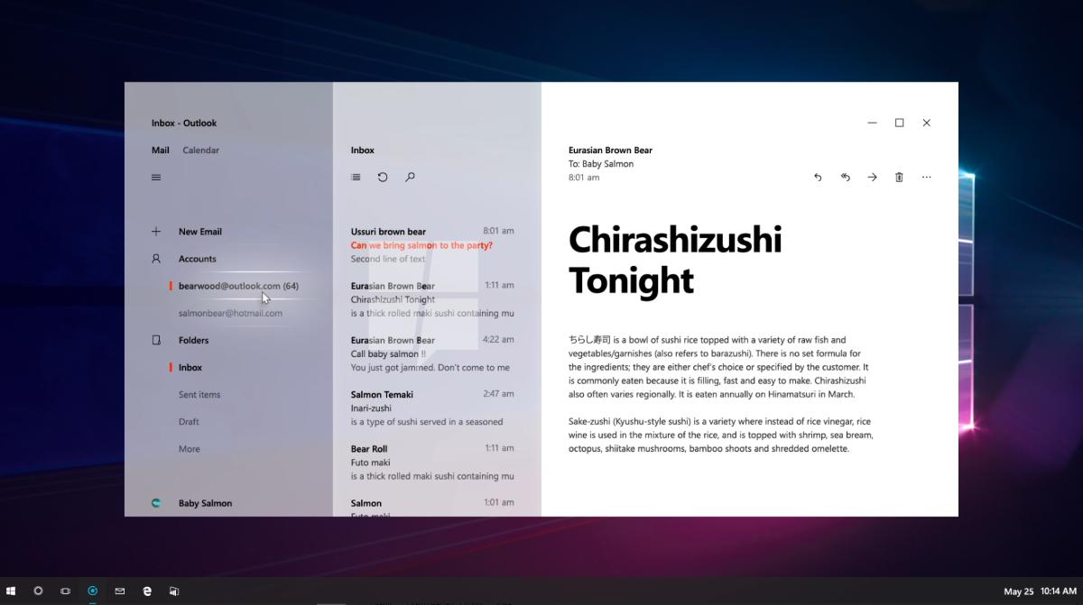 Microsoft обновит дизайн Windows 10