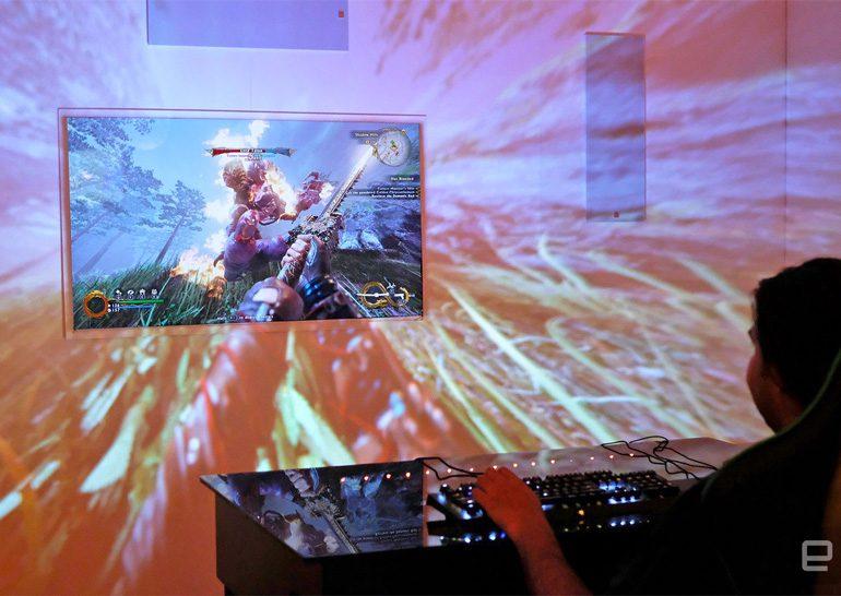 Razer продемонстрировала концепт проектора Project Ariana позволяющий расширить восприятие визуальной информации