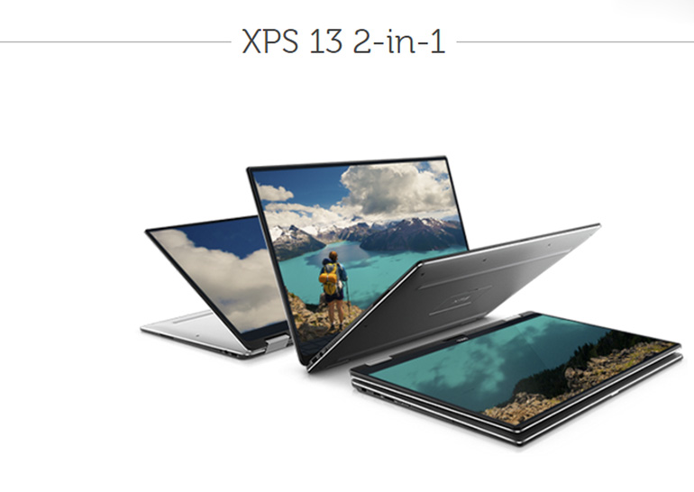CES 2017: ноутбук-трансформер Dell XPS 13 2-in-1