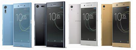 Официальные изображения четырех новых смартфонов Sony Xperia опубликованы накануне завтрашней презентации