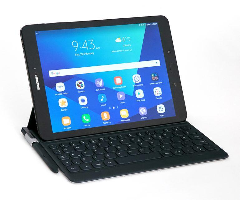 """Планшет Samsung Galaxy Tab S3 представлен официально: """"стеклянный"""" корпус, 9,7-дюймовый Super AMOLED, Snapdragon 820, 4 ГБ ОЗУ, четыре динамика AKG и новый стилус S Pen"""