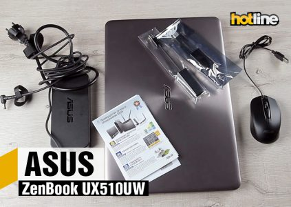 Видеообзор ноутбука ASUS ZenBook UX510UW