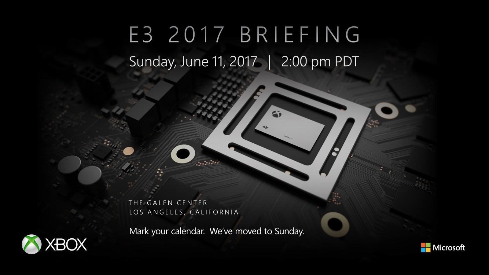 Microsoft раскроет детали оприставке Xbox Scorpio навыставке E3 2017 11июня