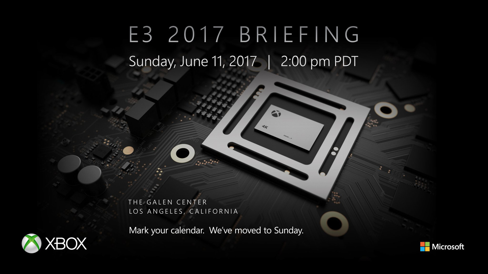 Microsoft привезет свою новейшую консоль Project Scorpio наE3 2017