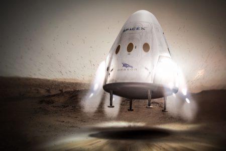 SpaceX отложила запуск беспилотного посадочного аппарата Red Dragon на Марс до 2020 года