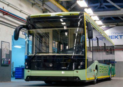 Осенью в Одессе появится первый электроавтобус