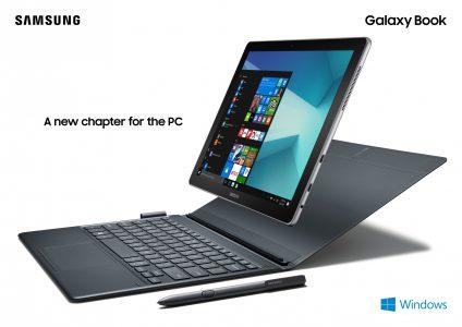 Samsung Galaxy Book 10 и 12 – пара новых Windows 10 планшетов с процессорами Intel Core и комплектными стилусом S Pen и клавиатурой