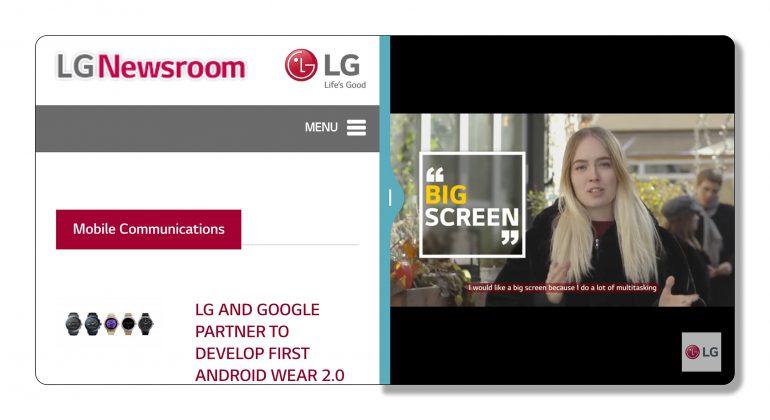 LG рассказала об особенностях нового интерфейса UX 6.0, заточенного под дисплей смартфона LG G6 с соотношением сторон 2:1 [видео]