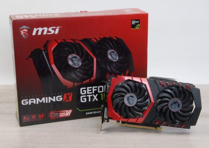 Обзор видеокарты MSI GeForce GTX 1050 Ti GAMING X 4G