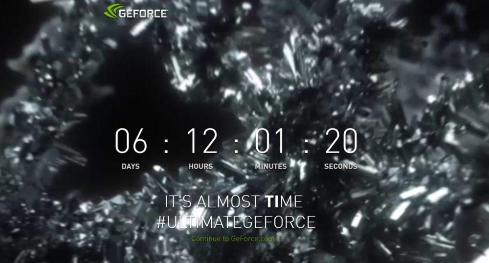 Nvidia запустила встречный отсчет доанонса видеокарты GTX 1080 Ti