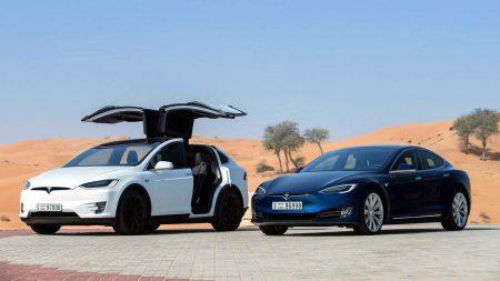 Дубай приобрел 200 электромобилей Tesla Model S и Model X для собственной службы беспилотного такси