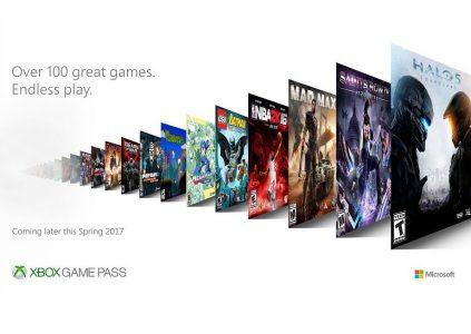 Microsoft анонсировала сервис игр по подписке Xbox Game Pass для консоли Xbox One и устройств с Windows 10