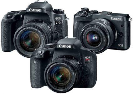 Canon анонсировала камеры 800D, 77D и M6. Ни одна из них не умеет снимать видео 4K