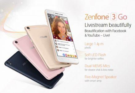 Смартфон ASUS Zenfone 3 Go полностью рассекречен