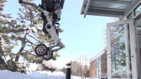 «Handle ноги-колеса»: Boston Dynamics официально представила своего нового робота