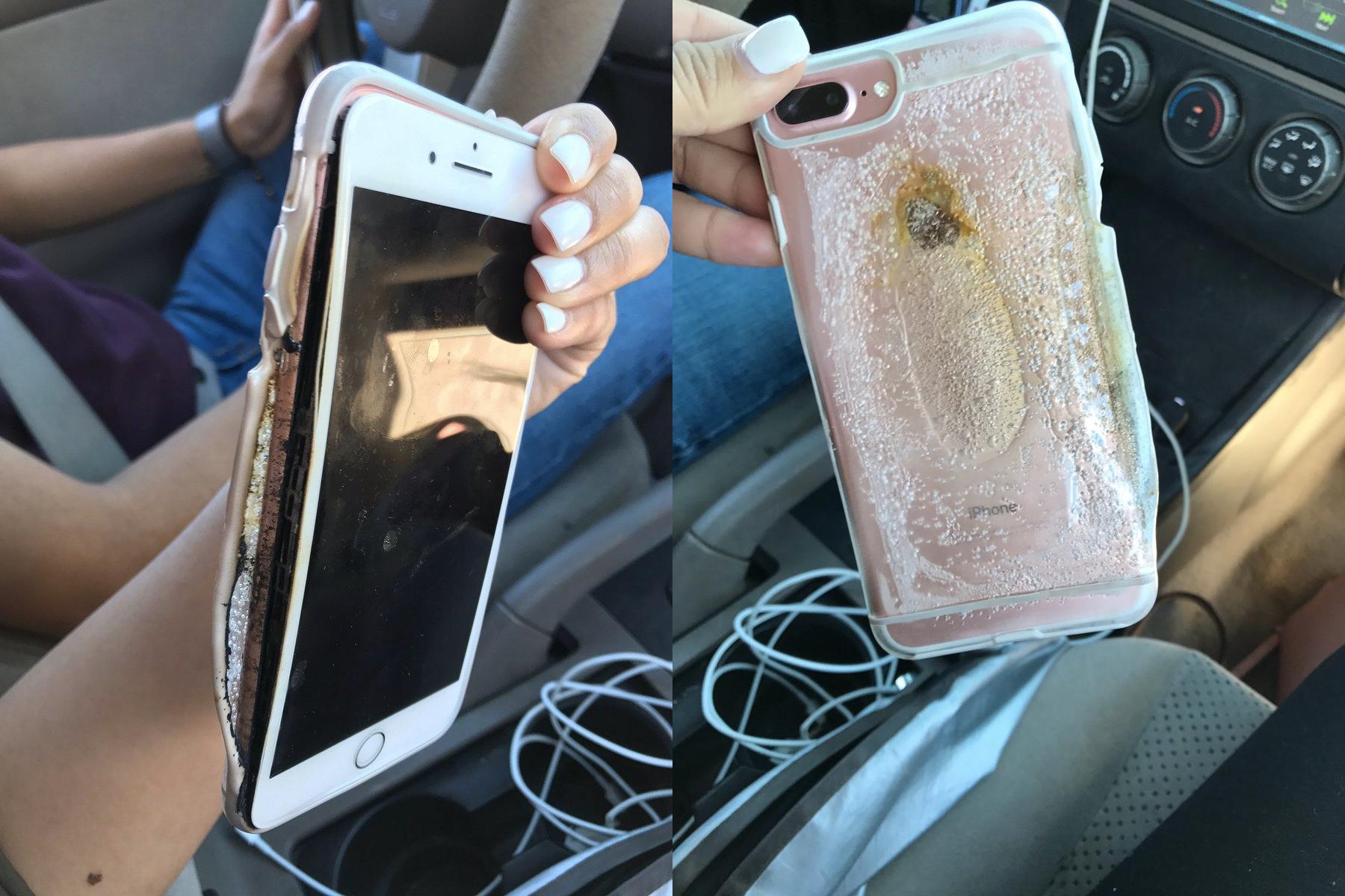 Apple разбирается винциденте сзагоревшимся iphone 7 Plus