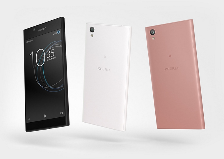 Сони представила новый смартфон Xperia L1— Черный или белый