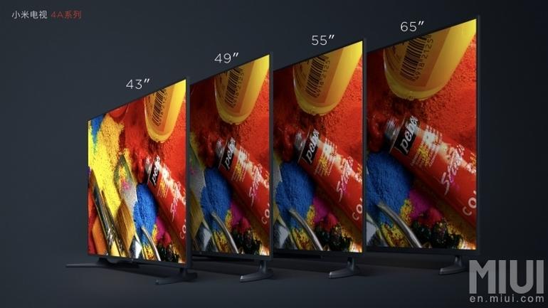 Новые умные телевизоры Xiaomi MiTV 4A стоят от $300