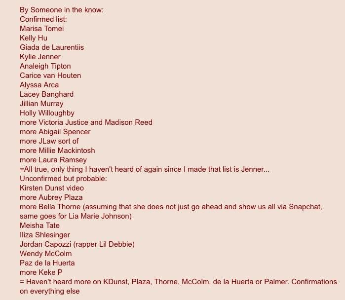 Обновлено: Хакеры украли личные фотографии Эммы Уотсон, Аманды Сайфред и многих других знаменитостей