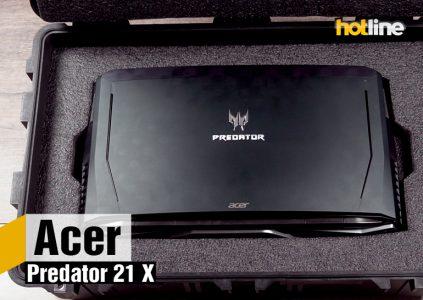 Видеообзор игрового ноутбука Acer Predator 21 X