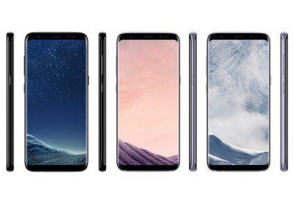 Опубликованы качественные фотографии интерфейса Samsung Galaxy S8 Plus и видео его сравнения с другими смартфонами