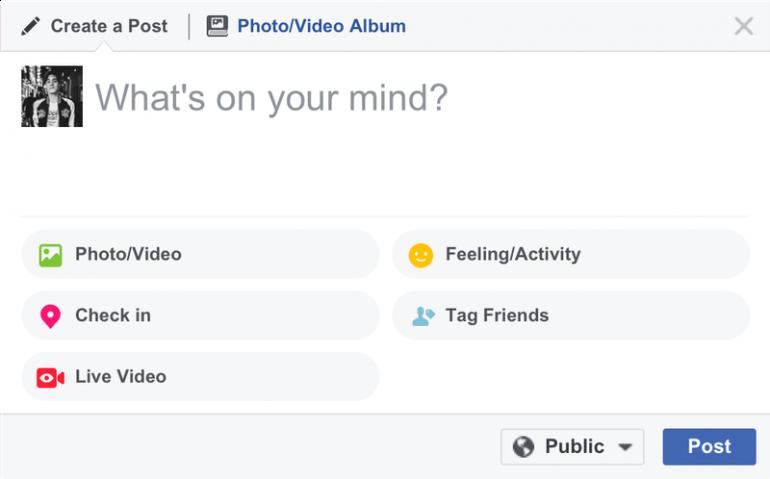 Фейсбук запустил стриминговый сервис фейсбук Live дляПК