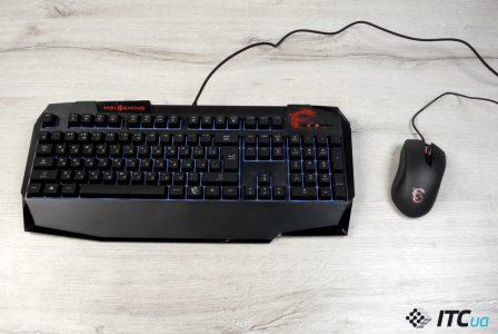 Обзор игрового комплекта MSI Vigor GK40