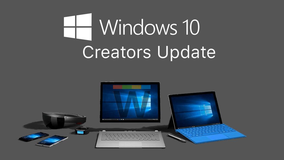 Скриншот Творческое обновление Windows 10 Creators Update