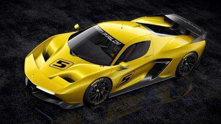 На трековом суперкаре Fittipaldi EF7 Vision Gran Turismo можно будет прокатиться не только на Playstation 4, но и в реальной жизни