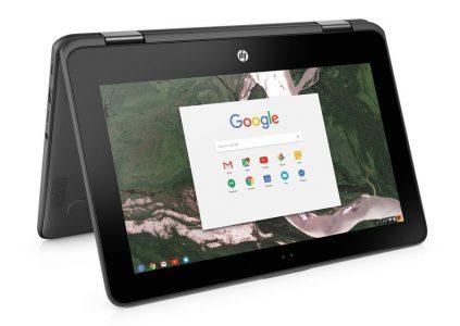 Анонсирован новый защищенный хромбук-трансформер HP Chromebook x360 11 G1 Education Edition с опциональным стилусом