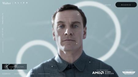 Компания Weyland-Yutani опубликовала видео процесса создания синтетика Уолтера (Alien: Covenant), основанного на платформе AMD Ryzen & Radeon