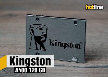 Видеообзор накопителя Kingston A400 120 ГБ
