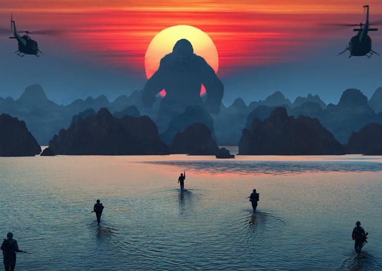 Фильм «Конг: Остров Черепа» стал самым кассовым зауик-энд