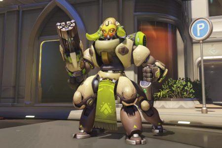 В Overwatch появился новый герой — робот-паук Ориса