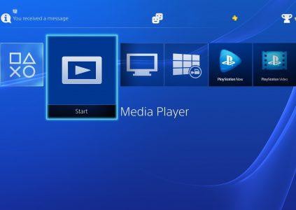 Обновленный Media Player игровой консоли PS4 Pro научился воспроизводить 4K-видео на телевизорах и шлеме виртуальной реальности PS VR