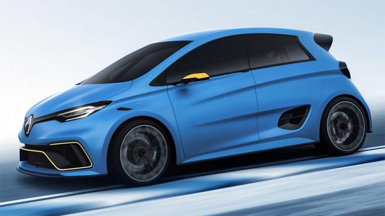 """Французы превратили обычный электромобиль в полноприводный """"горячий хэтчбек"""" Renault Zoe e-sport"""