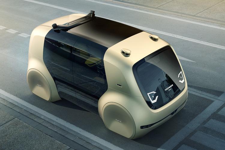 google представил концепт автомобиля без руля и педалей