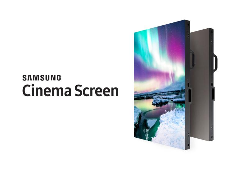 Экран Самсунг Cinema Screen диагональю 10м будет достойным конкурентом кинотеатральным проекторам