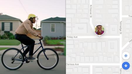Скоро в Google Maps появится возможность поделиться с друзьями своим местонахождением и маршрутом передвижения в реальном времени