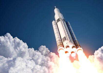 NASA показало панорамное видео огневых испытаний двигателя RS-25, который планируется использовать для ракеты Space Launch System