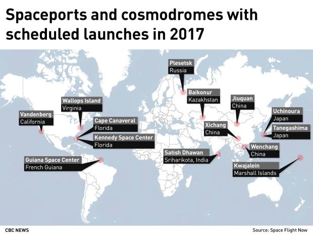 ВКанаде построят космодром для украинских ракет-носителей