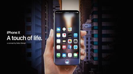 Еще один концепт iPhone без рамок (в этот раз действительно красивый)