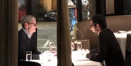 Тим Кук и Сундар Пичаи встретились за деловым обедом. Но зачем? (мы не знаем)