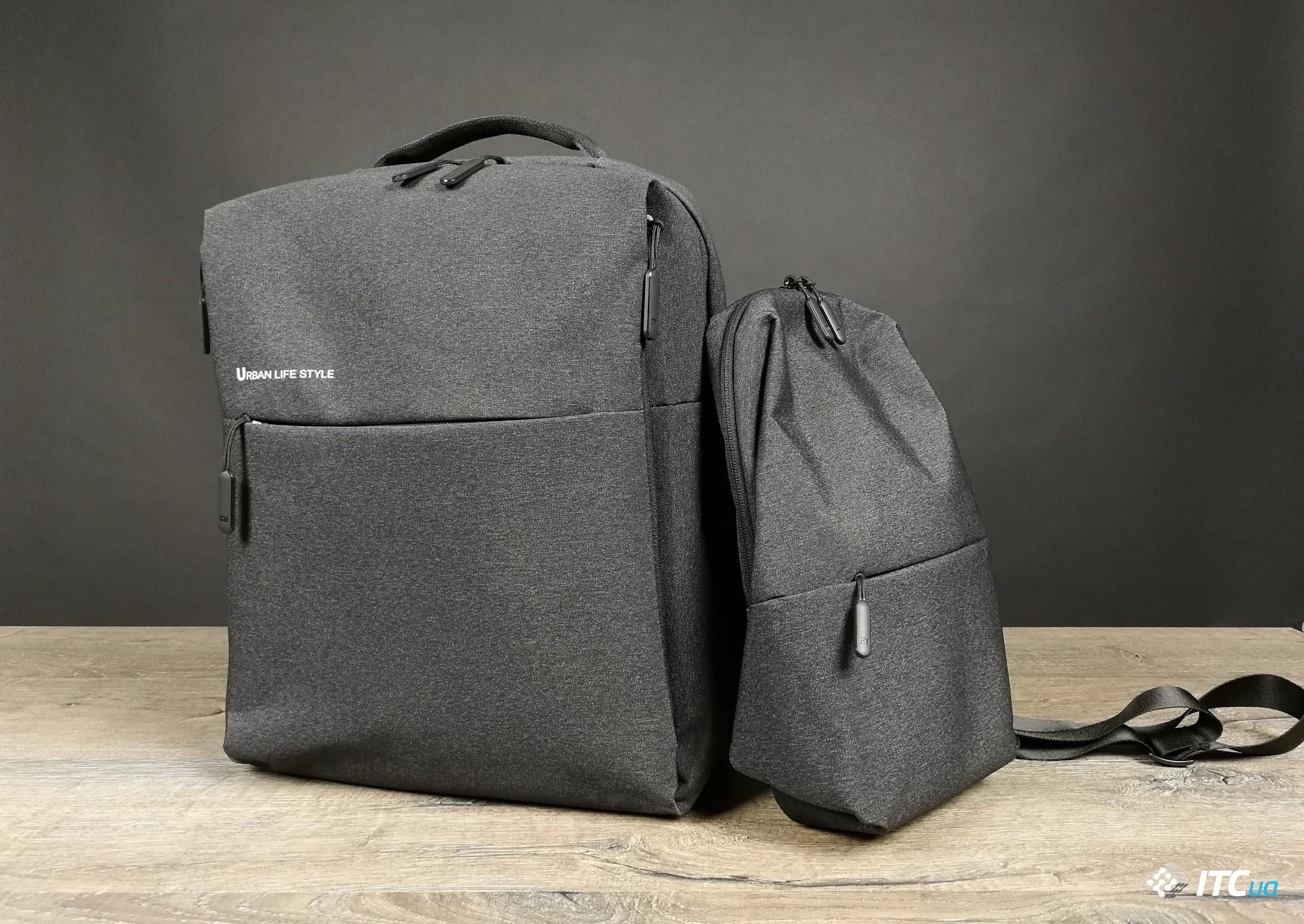d3e01b1138fe Все от Xiaomi  обзор рюкзака Mi minimalist urban и сумки Mi  multi-functional urban