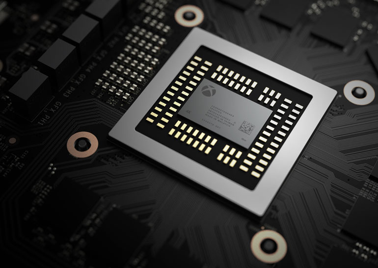 Microsoft представила технические данные Project Scorpio